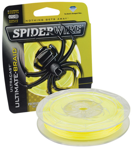 Spiderwire ULTRACAST -8- ULTIMATE Yellow 0,17/110m