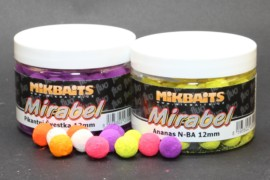 Mikbaits Mirabel Fluo boilie 150ml- 12mm