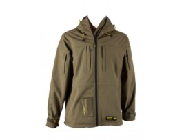 Tactic Carp  Bunda Softshell olive green with drill-bag