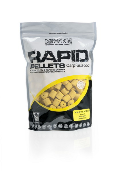 Pelety Rapid Easy Catch Ananas 1 kg 12 mm